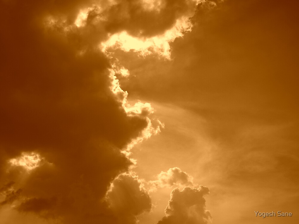 cloud mist by Yogesh Sane