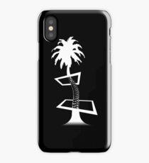 Palm Through the Panes iPhone Case/Skin