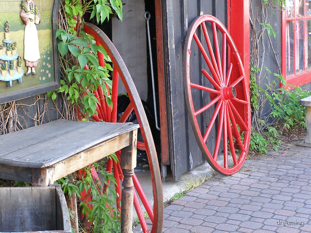 Red Wheels by dreaming