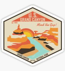 Grand Canyon National Park Sticker