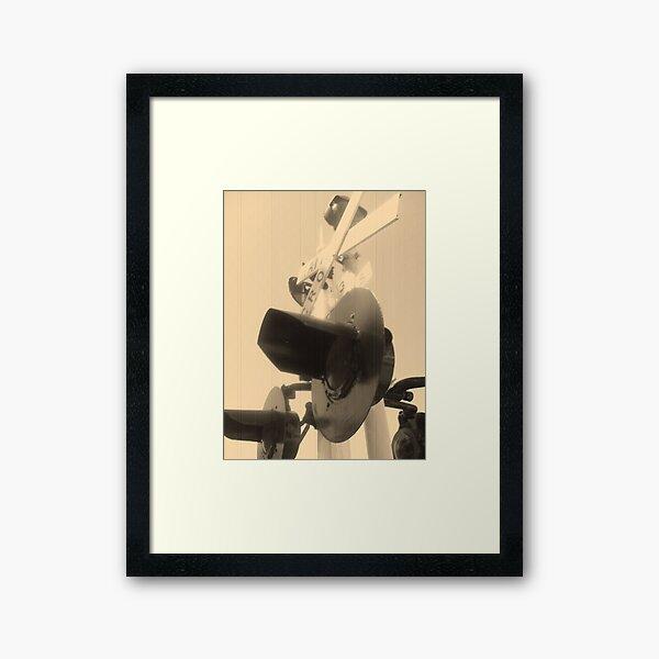 Ding Ding Ding Framed Art Print