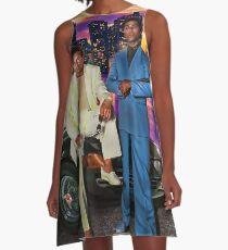Miami Vice A-Linien Kleid