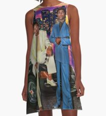 Miami Vice A-Line Dress