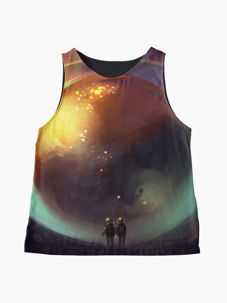 Alternate view of eye of the world Sleeveless Top