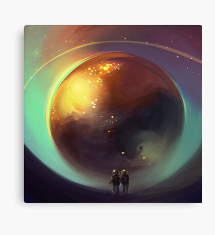 eye of the world Canvas Print