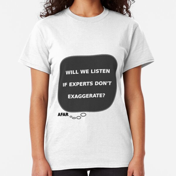 Comical Shirt Ladies 129 Percent of People Exaggerate Scoop Tee