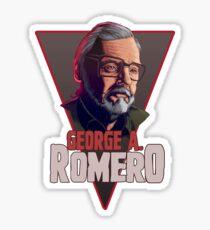George Romero Sticker