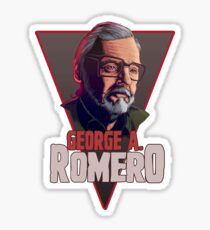 George Romero Sticker