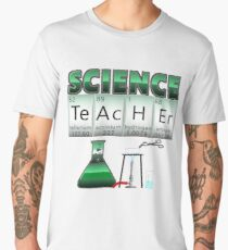 Science Teacher Periodic Table Elements Gift Men's Premium T-Shirt