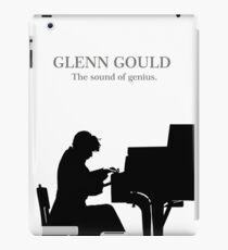 Glenn Gould, the pianist, piano iPad Case/Skin