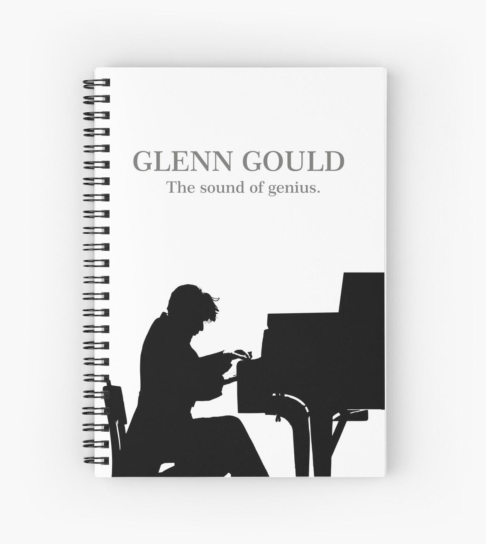«Glenn Gould, the pianist, piano» de ManuelGuajiro