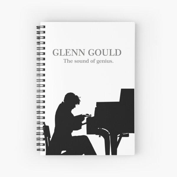 Glenn Gould, the pianist, piano Cuaderno de espiral