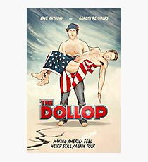 DOLLOP- 2017 US ICELAND TOUR POSTER Photographic Print
