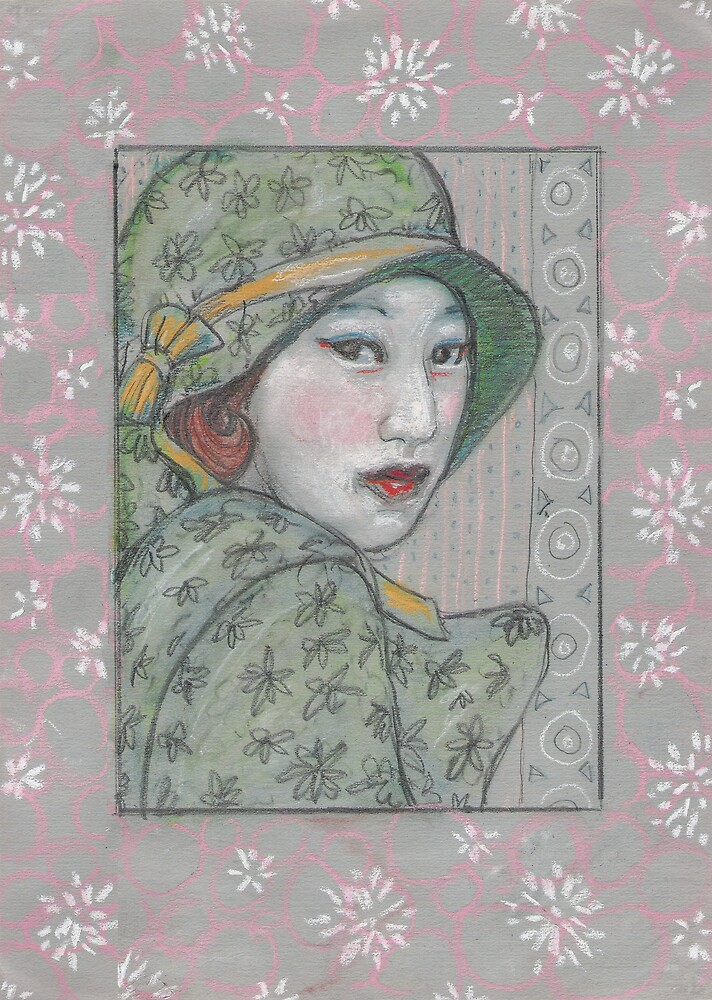 The Green cloche by Fiona O'Beirne