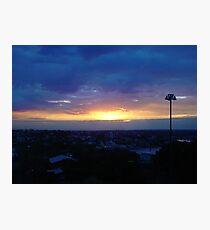 Sunset from Shangri-la (final) Photographic Print