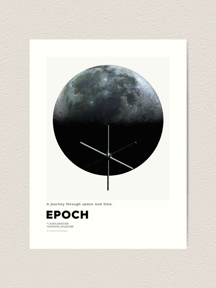 Alternate view of EPOCH - Our Moon Art Print