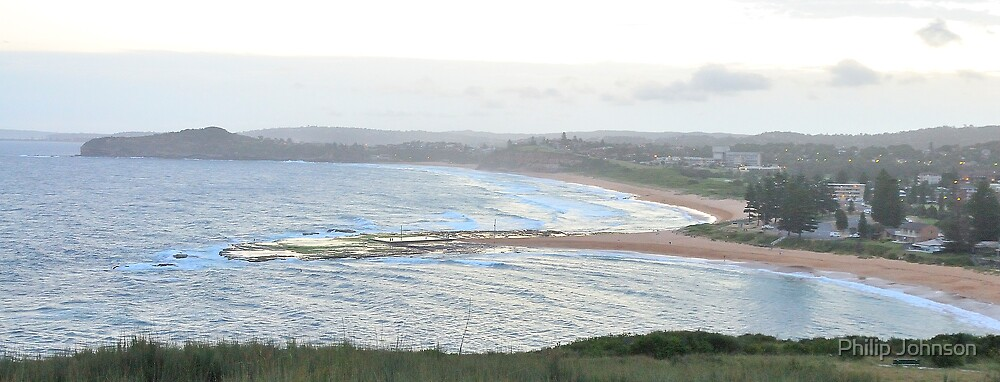 Two Beaches Divided by Philip Johnson