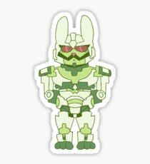 Bunny Minimus Sticker