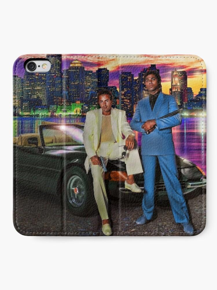 Alternative Ansicht von Miami Vice iPhone Flip-Case