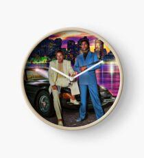 Miami Vice Clock