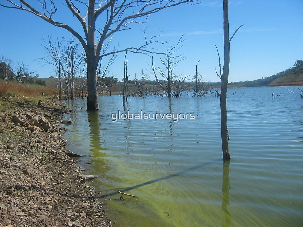 Dam in western NSW ~ 2 by globalsurveyors