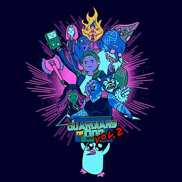 Guardians of Ooo by JustJoshDesigns