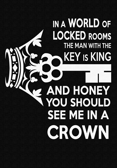 Moriarty Key Quote - White Text by jlechuga