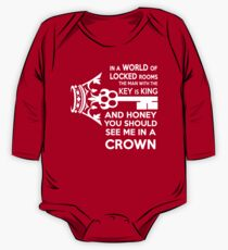 Moriarty Key Quote - White Text Kids Clothes