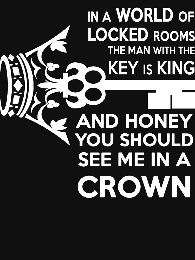 Moriarty Key Quote - White Text | Women's T-Shirt
