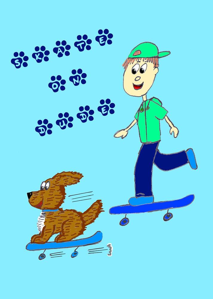 Skater doggy by EddyG