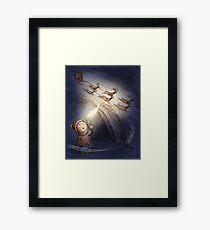 Reindeer Discovery Framed Print
