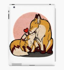 Mothers Day Foxes iPad Case/Skin