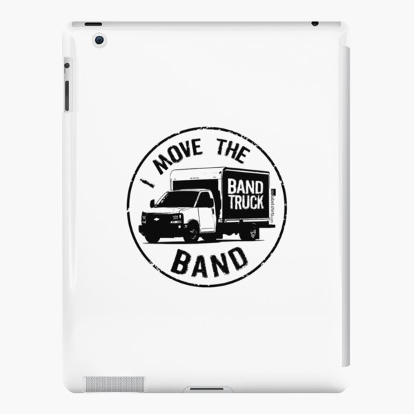 I Move The Band (Black Lettering) iPad Snap Case