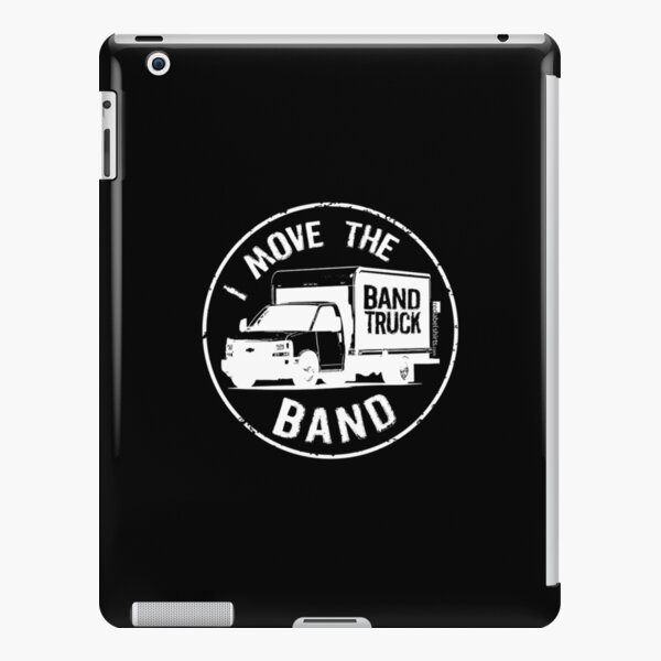 I Move The Band (White Lettering) iPad Snap Case