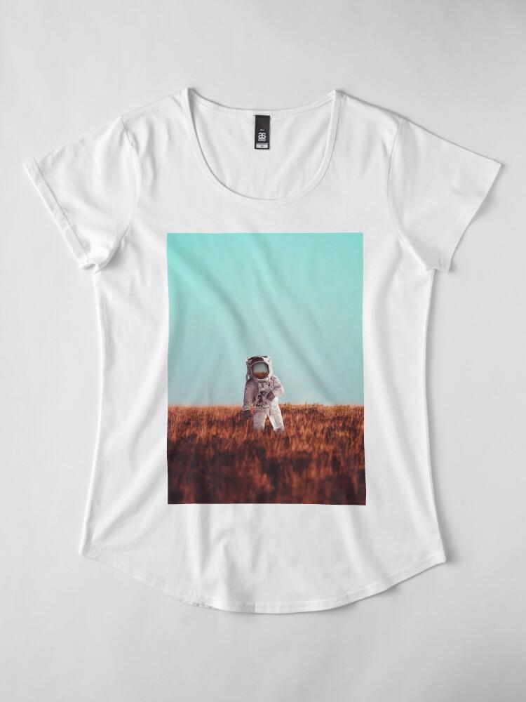 Alternate view of Home Premium Scoop T-Shirt
