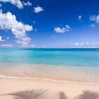 Hawksbill Beach, Antigua, Caribbean by Justin Foulkes