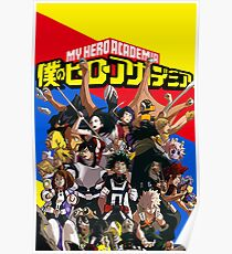 My Hero Academia Class A Poster