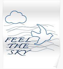 Feel The Sky Poster