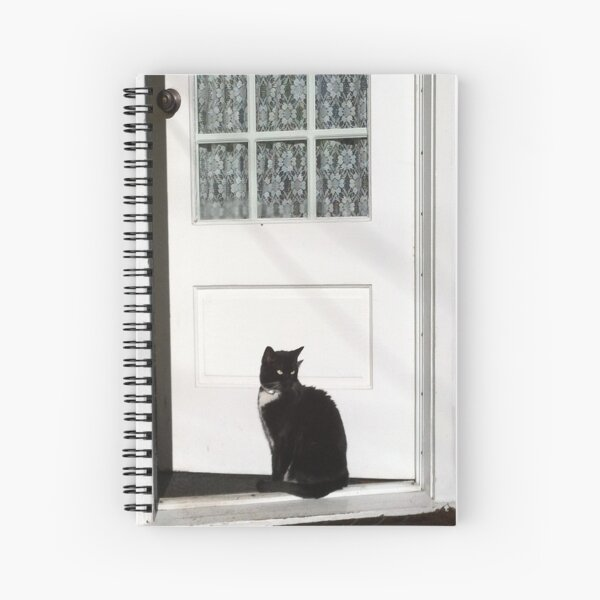 On the Doorstep Spiral Notebook