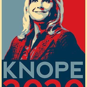 Vote Leslie Knope 2020 by slitheenplanet