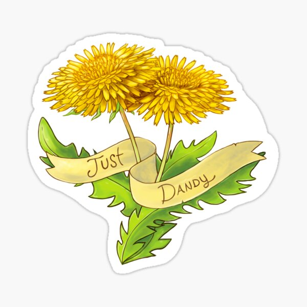 Just Dandy Sticker