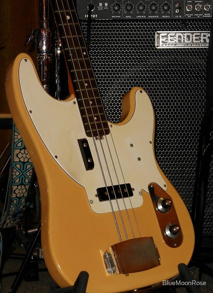 Bass Guitar - Close-up by BlueMoonRose