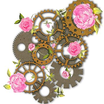 Roses in the Machine by elee