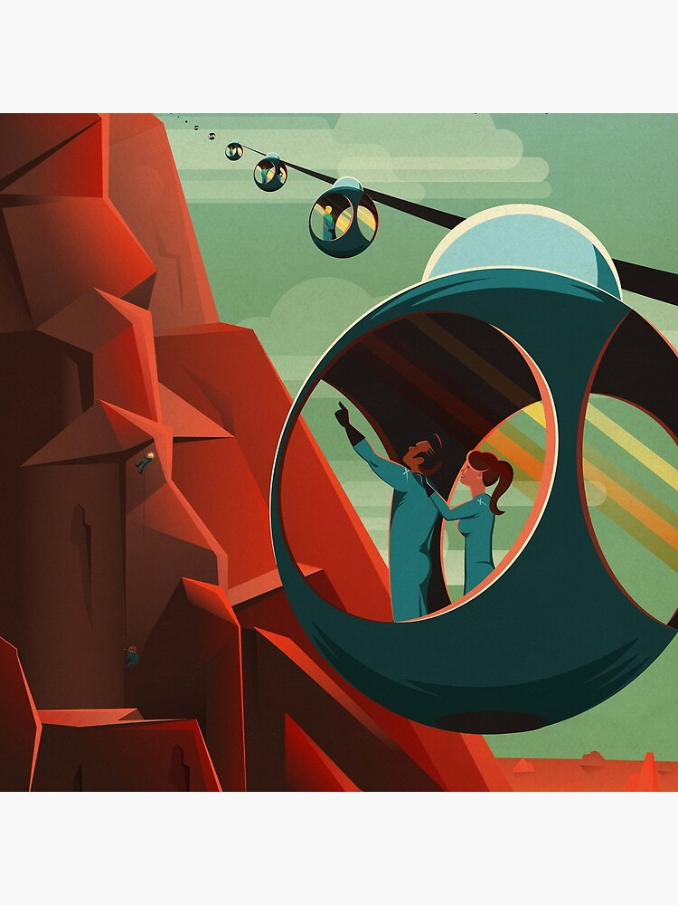 SpaceX Mars Kolonisations- und Tourismusverband: Olympus Mons von bobbooo
