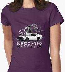 KEN & MARY SKYLINE TEE Womens Fitted T-Shirt