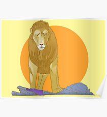 A Lion Untamed Poster