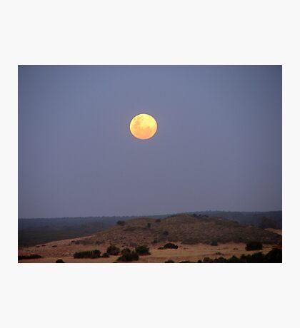 Lunar Landscape Photographic Print