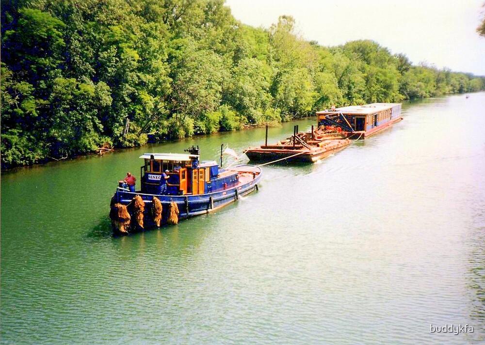Erie Barge Canal by buddykfa