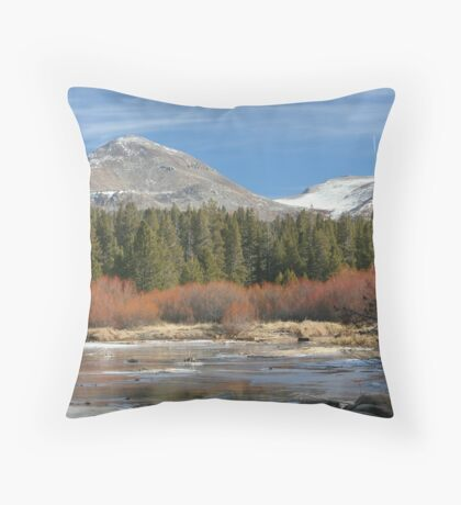 Tuolumne River 1 Throw Pillow
