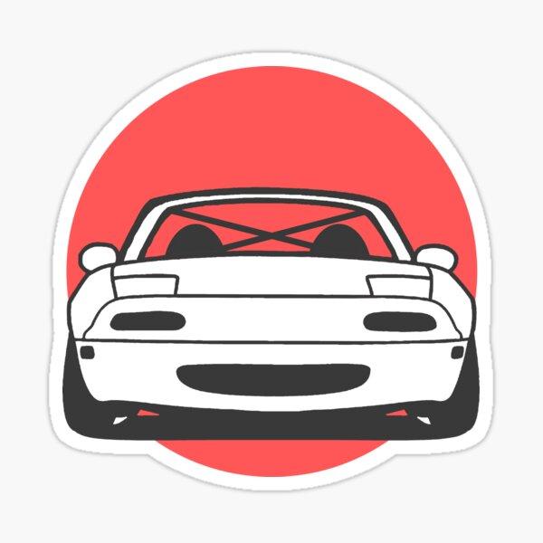 NA Miata Sticker